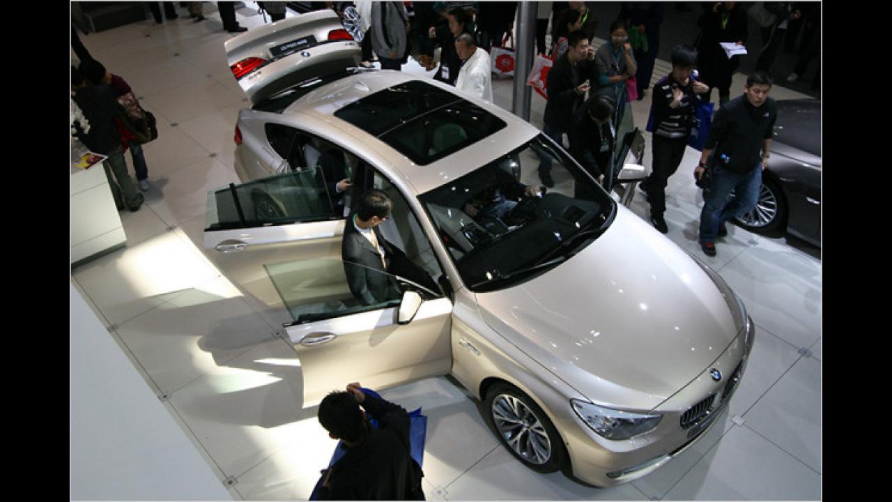 BMW 5er GT mit Allradantrieb