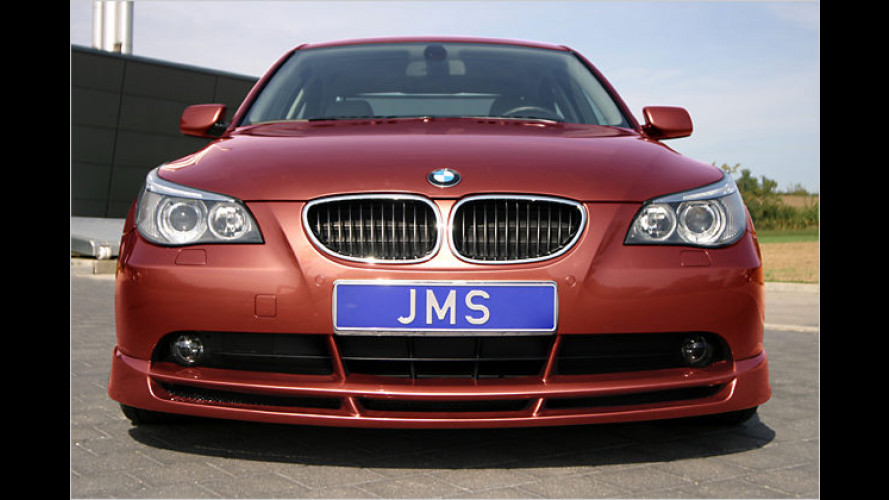 JMS verpasst dem BMW 5er einen sportlichen Racelook