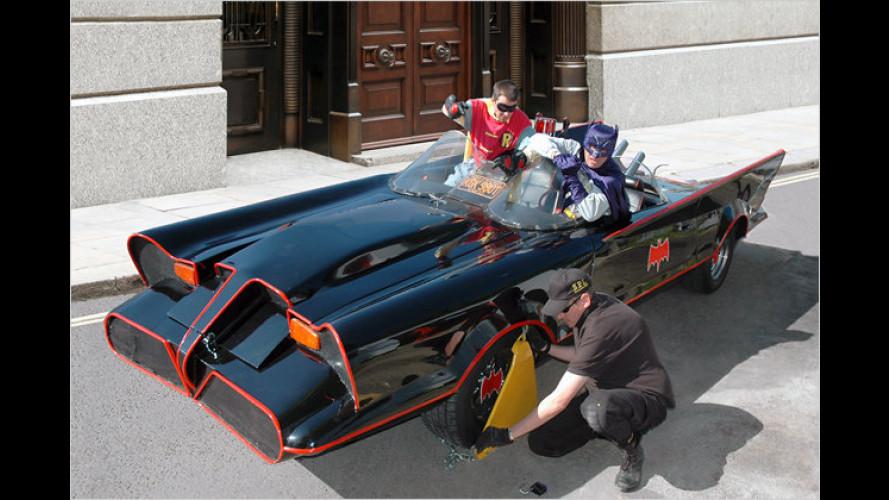 Fahren wie der Filmheld: Batmobil wird versteigert