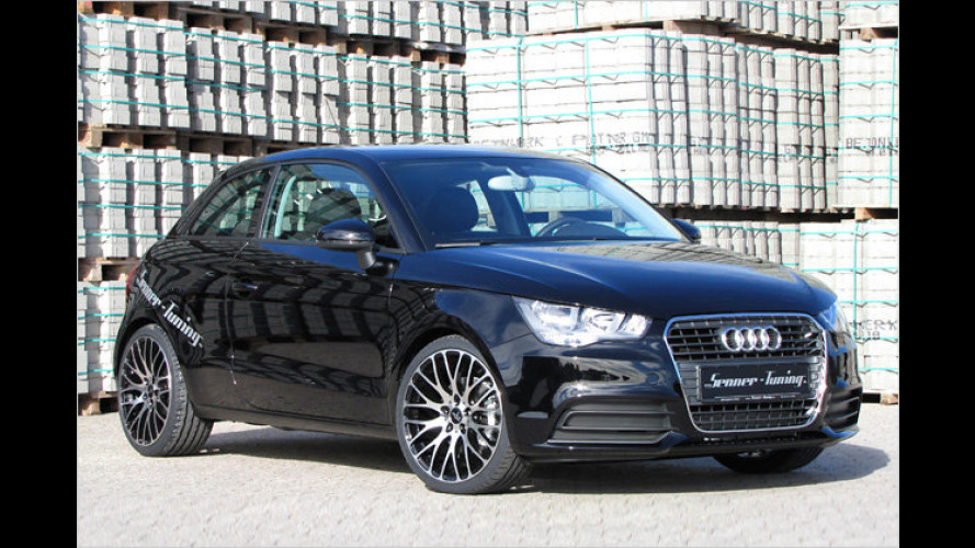 Mit Turbo-Flash: Audi A1 von Senner Tuning