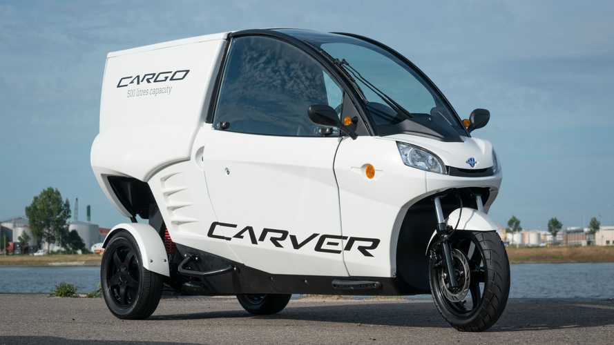 Carver Cargo Is An Electric Trike For Couriers To Have Fun At Work