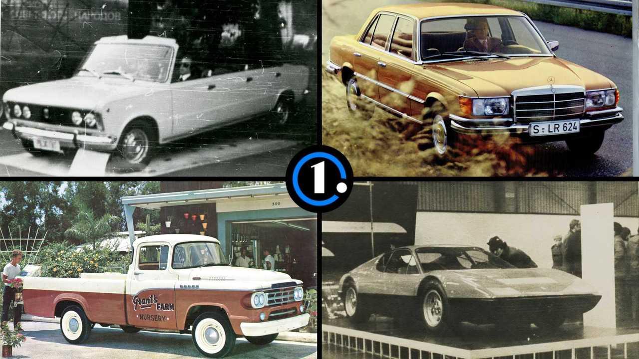 Зарубежные автомобили на советских выставках