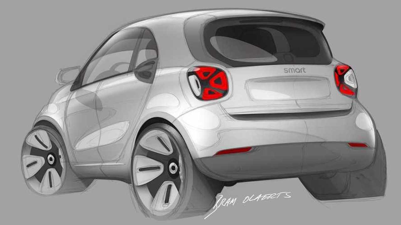 2020 Smart ForFour Sketch