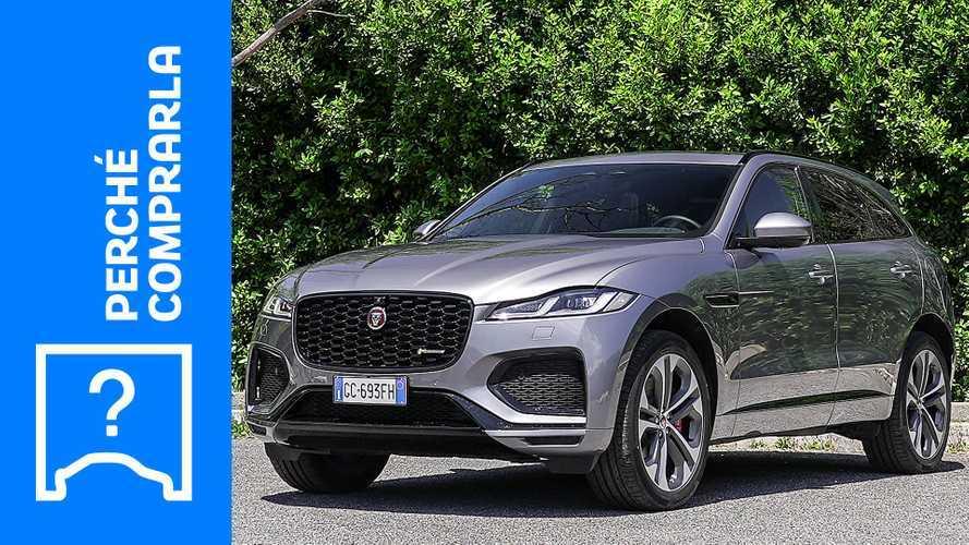 Jaguar F-Pace (2021), perché comprarla e perché no