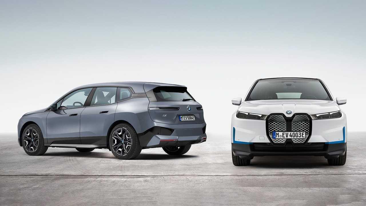 Названа примерная цена электрокроссовера BMW iX