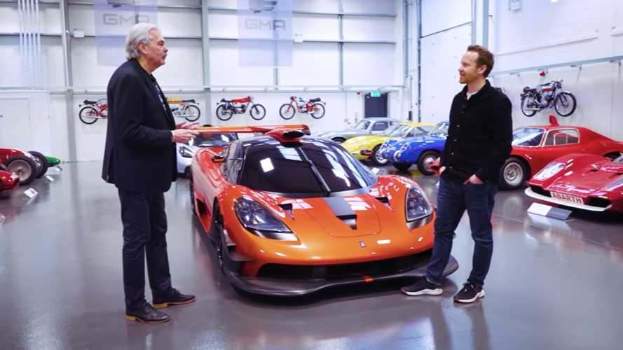 The Man Behind The McLaren F1 Shows Off His Car Collection