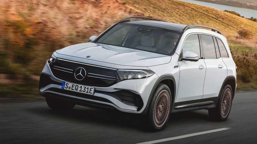 Mercedes-Benz EQB 2021: un SUV eléctrico muy aprovechable