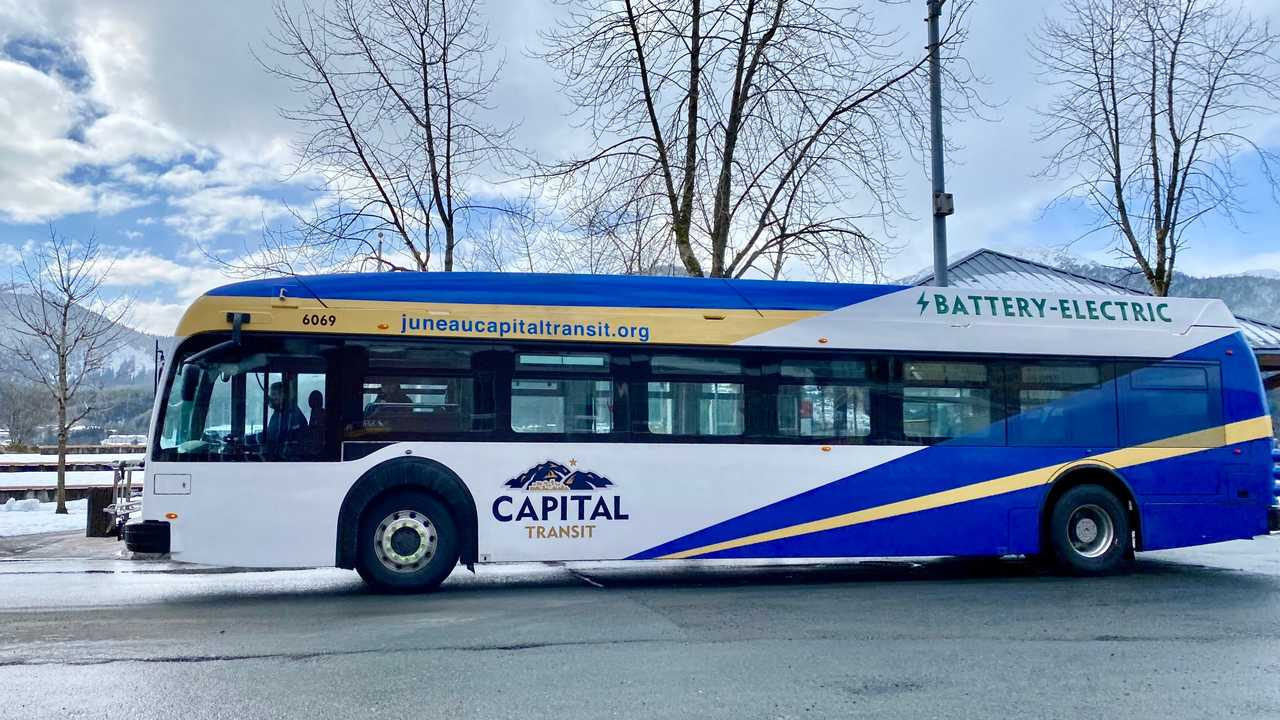 Capital Transit unveils first all-electric, zero-emission bus (source: The City and Borough of Juneau)