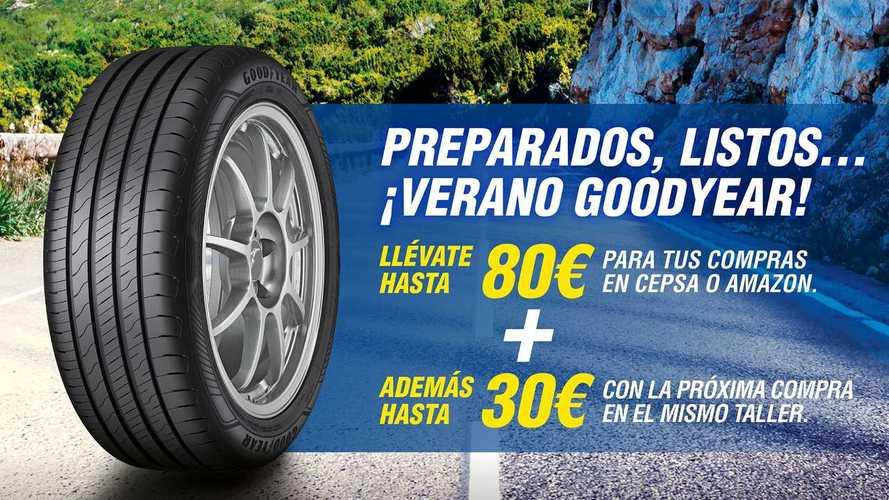 Goodyear ofrece una promoción de neumáticos para este verano