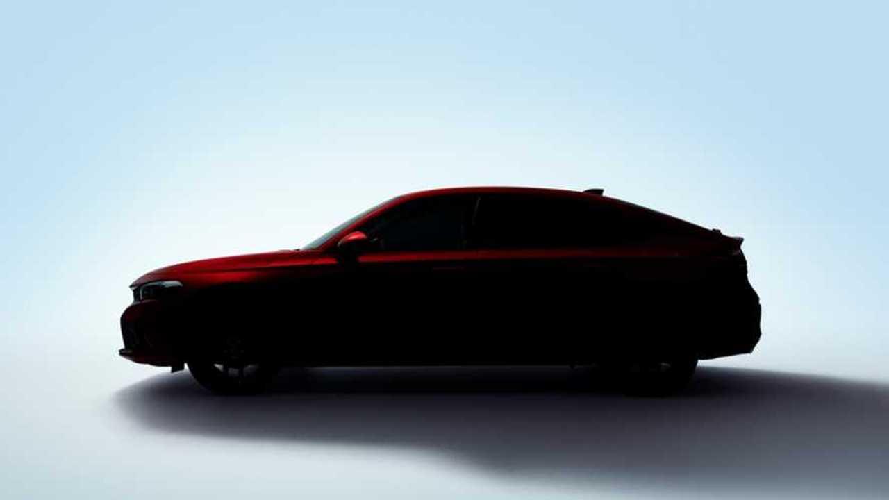 Honda Civic Hatchback teaser