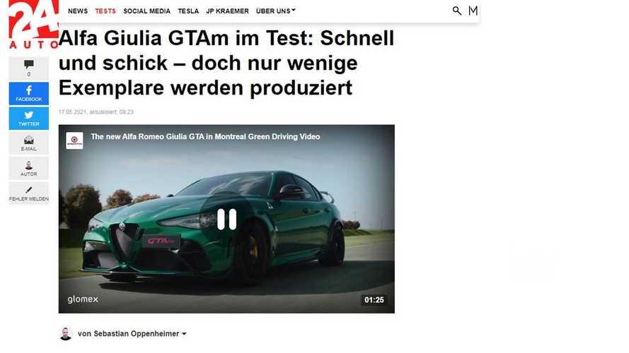 Alfa Romeo Giulia GTA e GTAm, cosa ne pensano all'estero