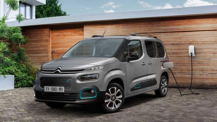 Citroën ë-Berlingo, ecco la multispazio in versione elettrica