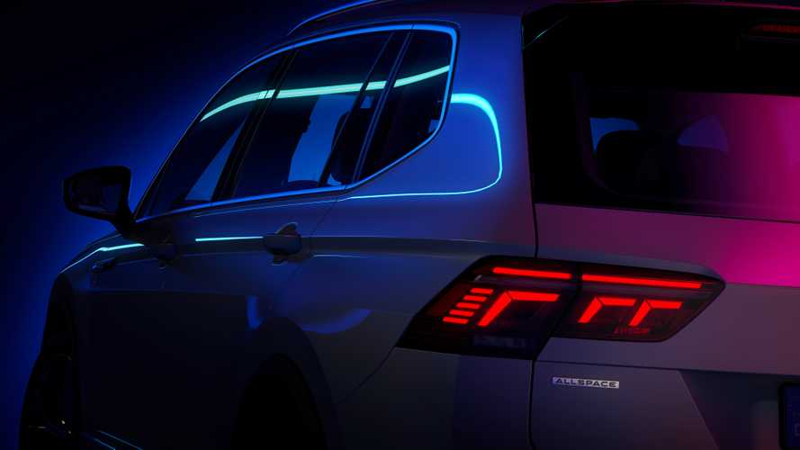 Volkswagen Tiguan Allspace, il teaser che anticipa il restyling