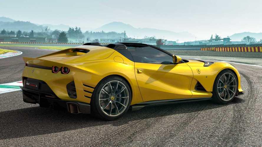 Ferrari 812 Competizione, V12 da 830 CV e aerodinamica da urlo