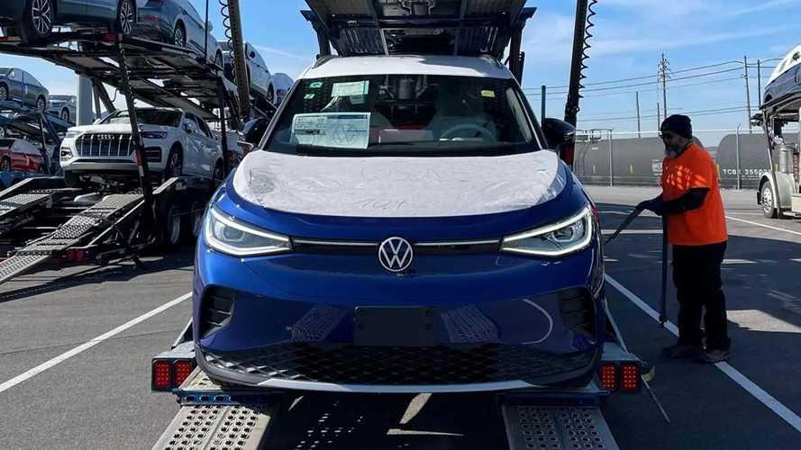 Volkswagen ID.4 Deliveries In U.S.
