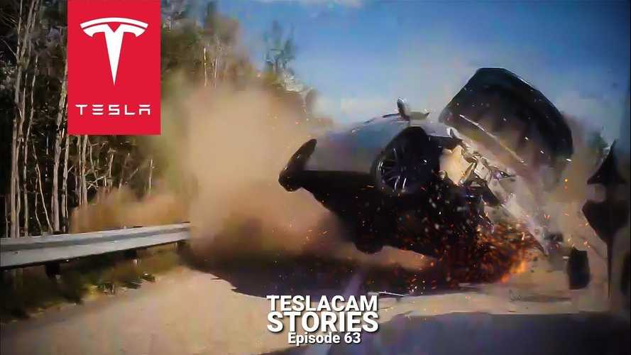Tesla Autopilot vs human pilot: TeslaCam crashes, fails, & saves