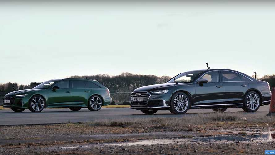 Can Audi S8 Keep Up With The RS6 Super Wagon?