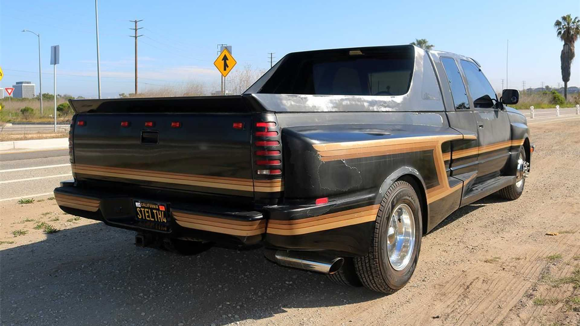 1990 GMC Sierra 3500 Tridon Conversion Rear View