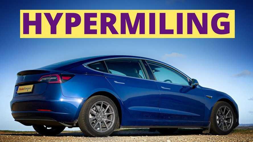 How Long Can Tesla Model 3 Go On 5 KWh With Hypermiling Tricks?