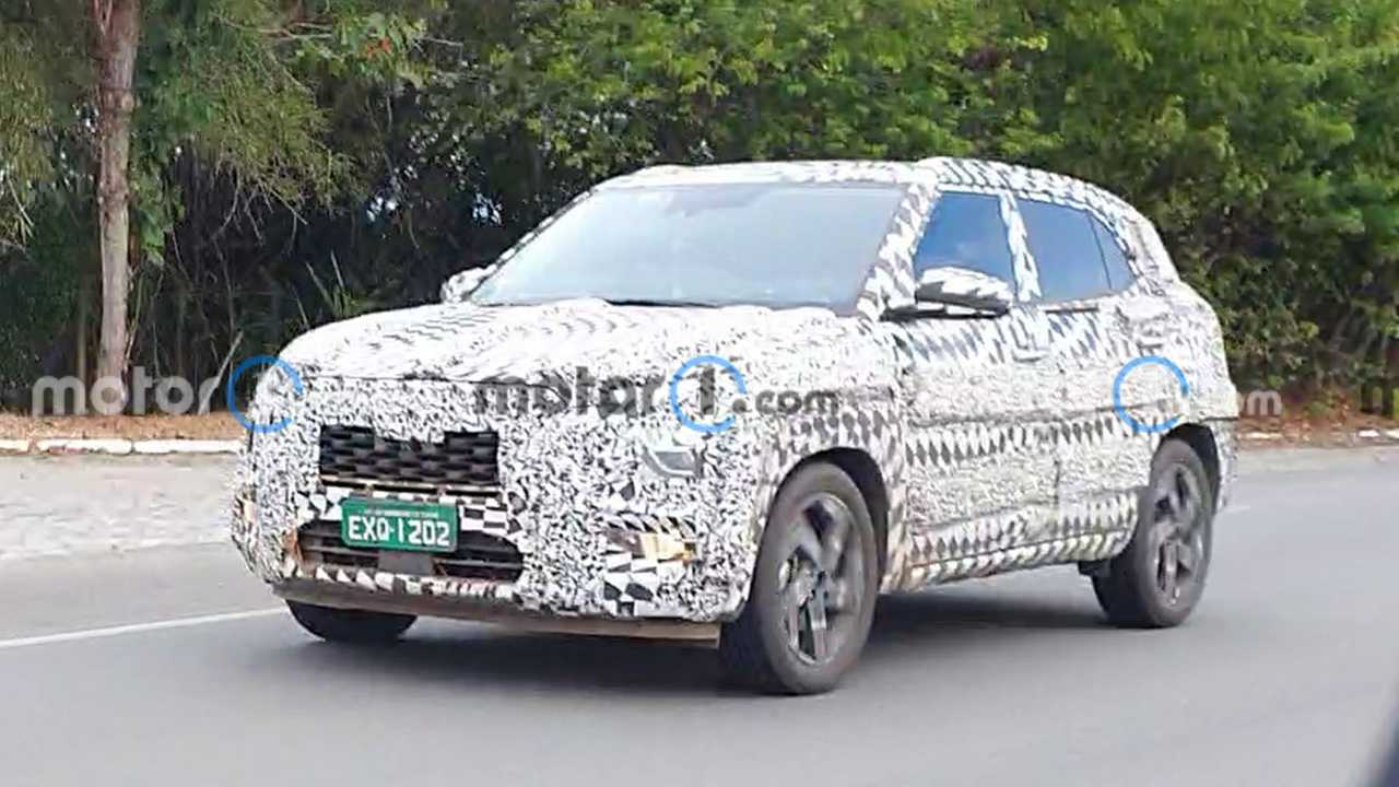 Hyundai Creta 2022 - Novos flagras
