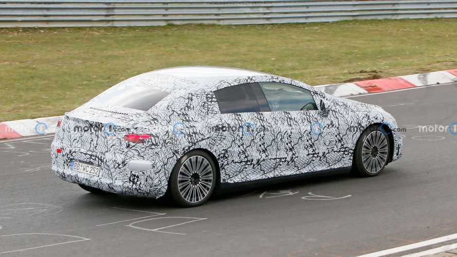 Mercedes-Benz EQE Spy Photos