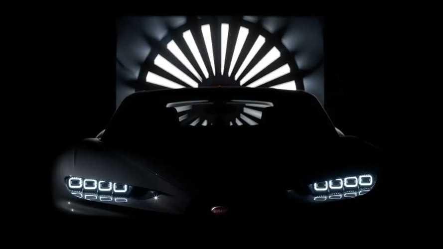 Bugatti намекнула на самый мощный Chiron