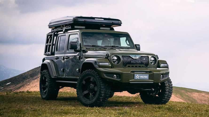 Tambah Gahar, Jeep Wrangler Dimodif Paket Militem Ferox Adventure