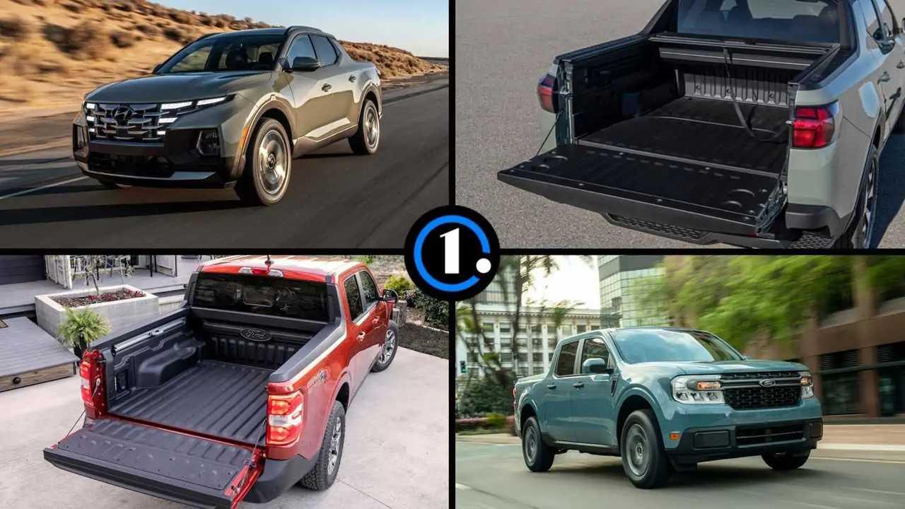 The Ford Maverick and Hyundai Santa Cruz are new compact truck competitors for 2022.