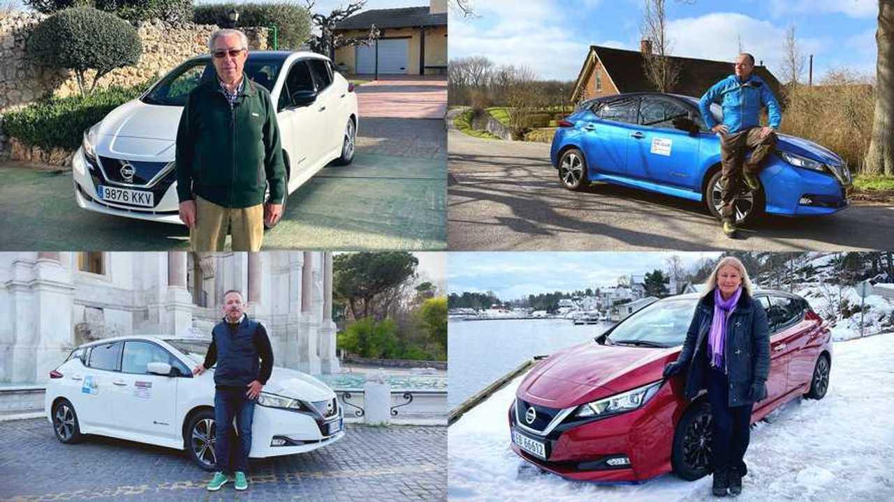 Владельцы Nissan Leaf
