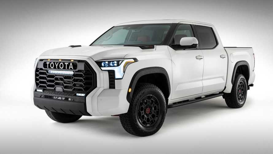 Toyota поделилась официальным изображением нового пикапа Tundra