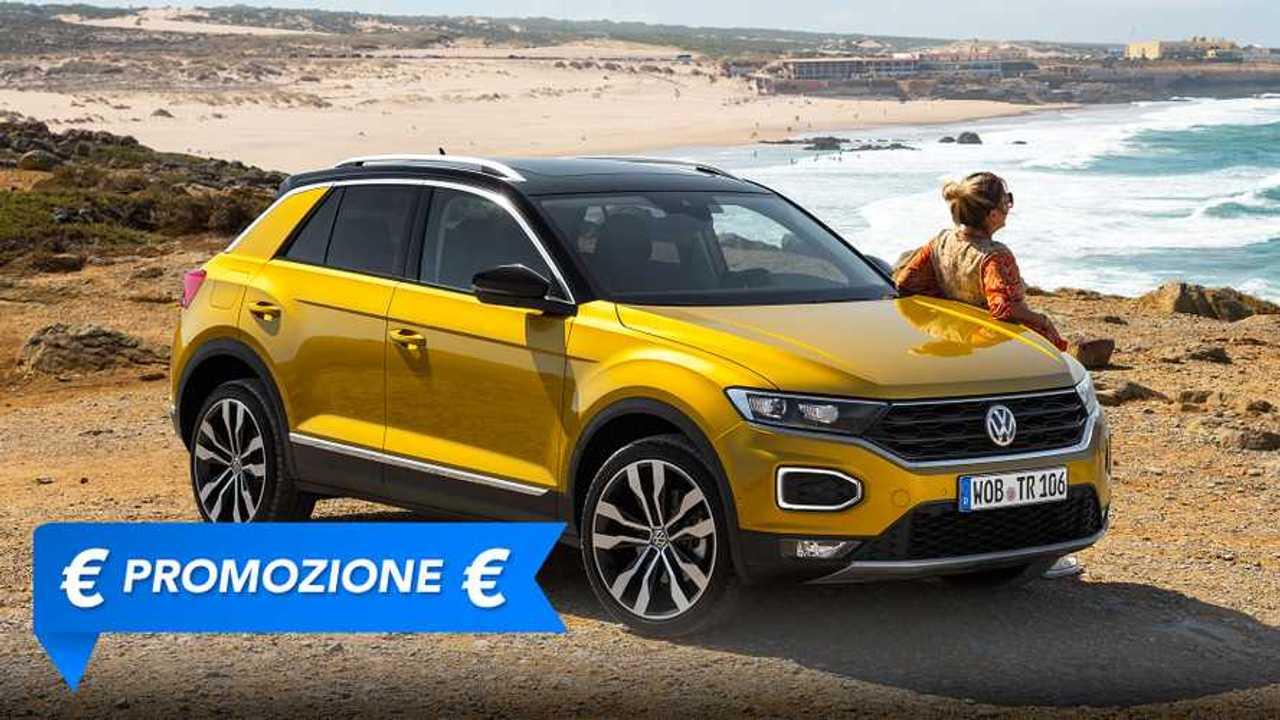 Volkswagen T-Roc, promozione giugno 2021
