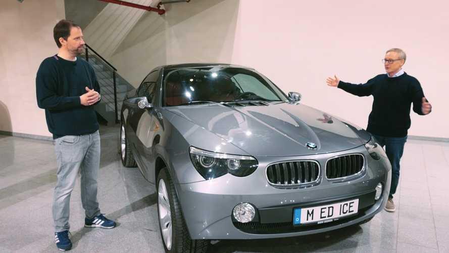 BMW svela una concept mai vista, l'ICE pioniera dei SUV coupé
