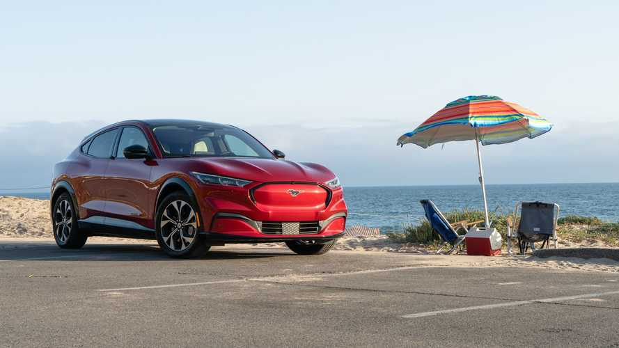 Playing Beach-Picnic Hooky In The 2021 Ford Mustang Mach-E