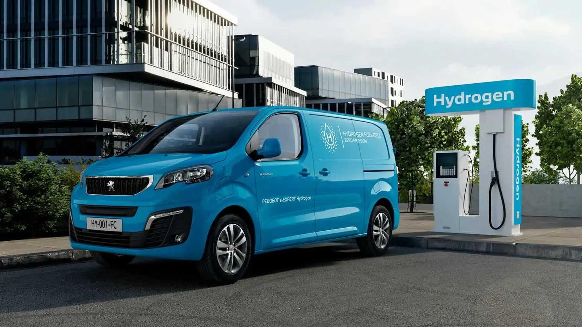 Peugeot Introduces e-Expert Hydrogen Vans