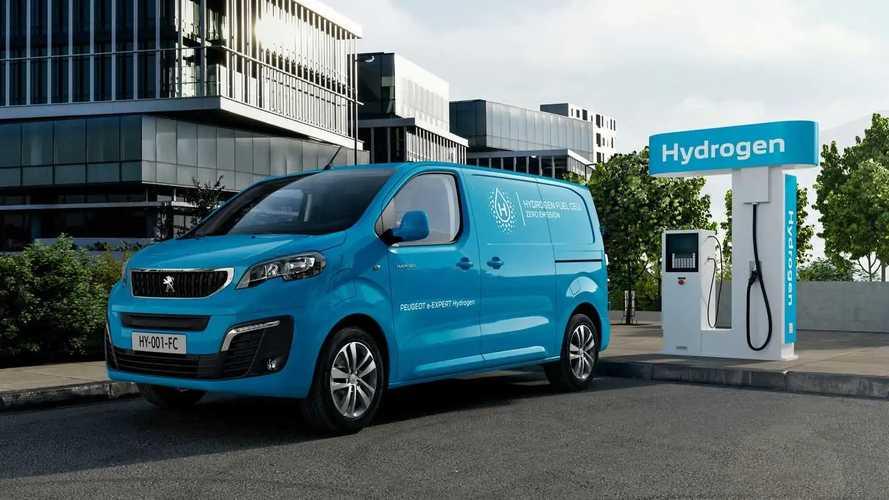 Peugeot Expert'in hidrojen yakıtlı versiyonu da tanıtıldı!