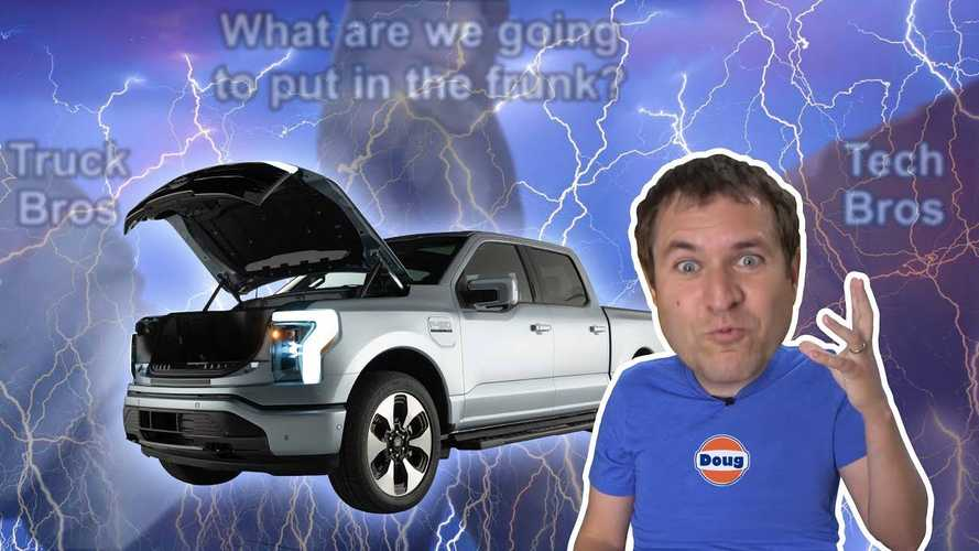 Doug DeMuro Thinks The F-150 Lightning Is A Turning Point For EVs