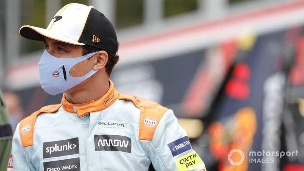 Lando Norris at Monaco GP 2021