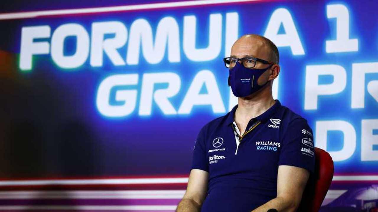 Simon Roberts, Williams team principal at Spanish GP 2021