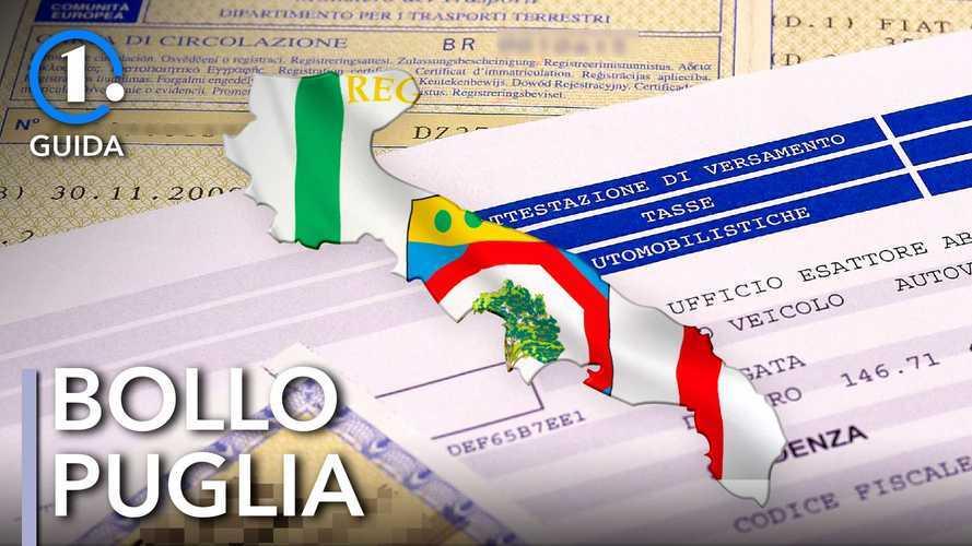 Come si paga il bollo auto in Puglia