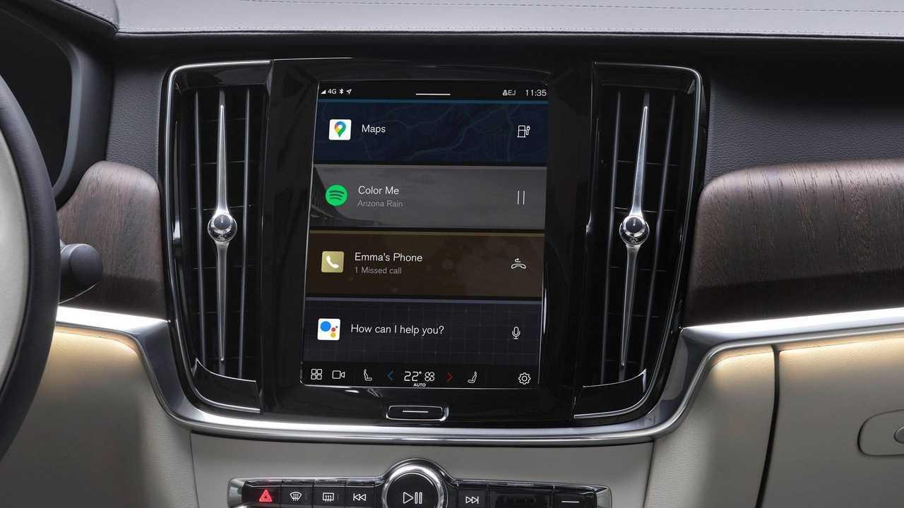 Volvo infotainment Google