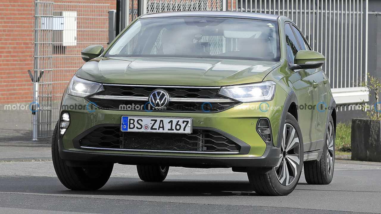VW Taigo Prototipi Ön Cephe