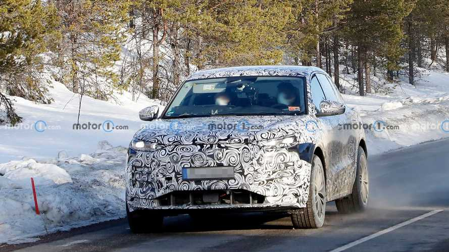 Photos espion Audi Q6 e-tron - Mars 2021
