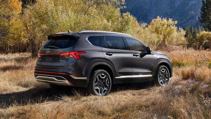 Hyundai Santa Fe PHEV Pricing Emerges