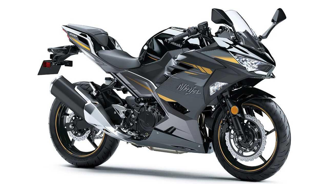Kawasaki Ninja 400 dengan warna baru.