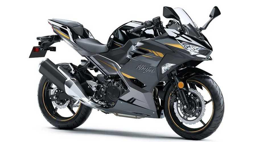 The Kawasaki Ninja 400 Gets Some Sleek Styling Revisions