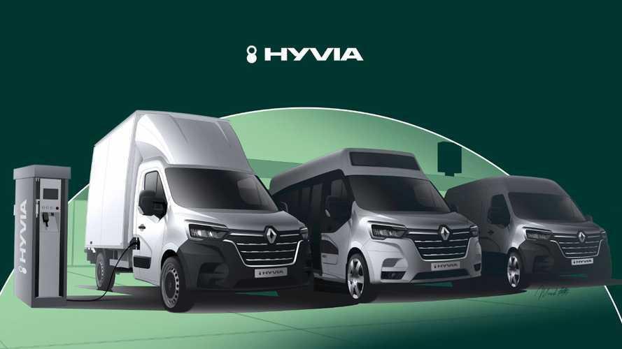 Renault Master mit Brennstoffzellen-System startet noch 2021