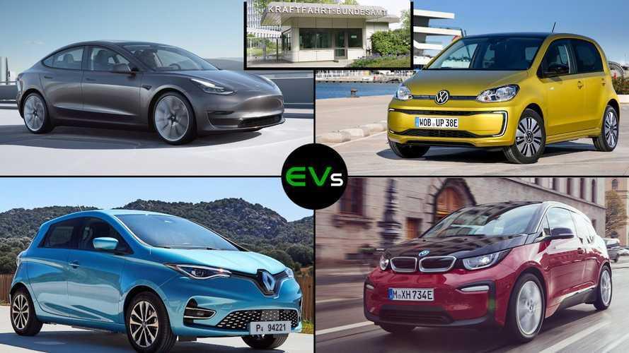 Meistverkaufte Elektroautos im ersten Halbjahr 2021