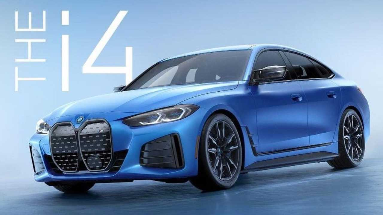 BMW i4 M50 leaks out