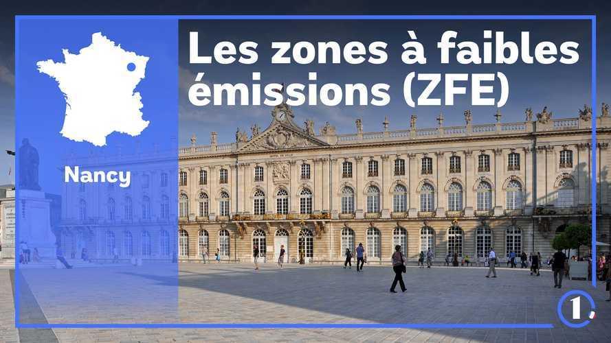 ZFE Grand Nancy - Circulation différenciée, modalités...