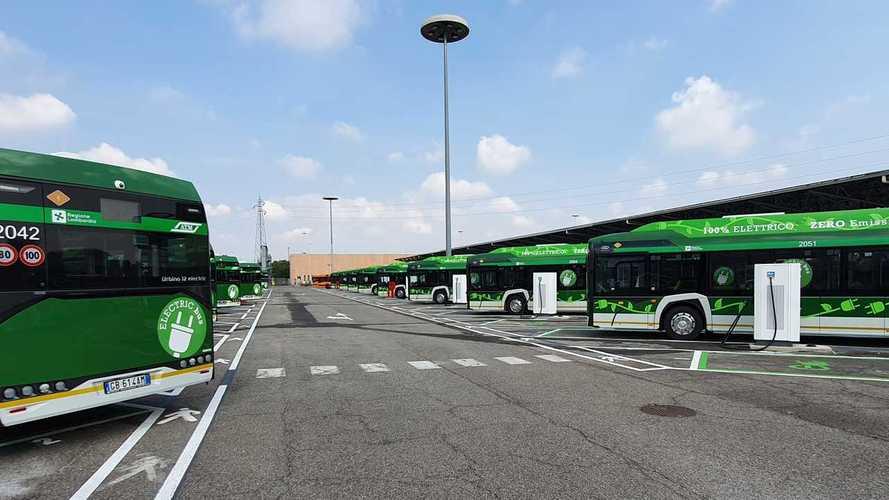 Milano elettrica: pronta la stazione di ricarica dei bus di San Donato